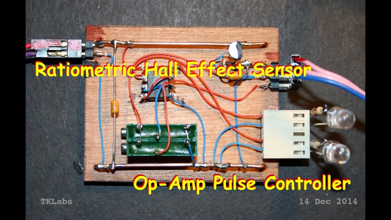 Pulse Motors Allegro A3503 Hall Effect Sensor Demo Youtube Ic Sensors Current Circuit