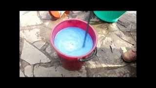 приготовление бордоской жидкости. Сайт Садовый мир
