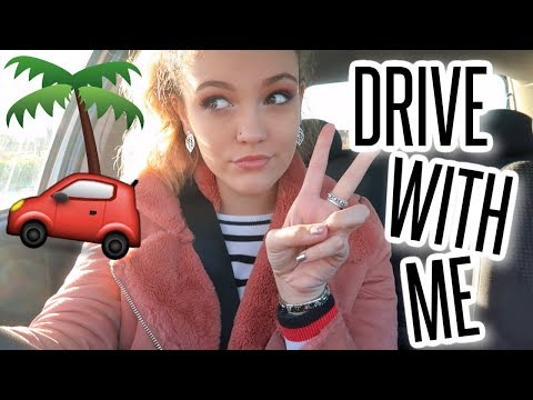 DRIVE WITH ME! Getting Over My Fear Of Travelling & What's on my Bucket List?