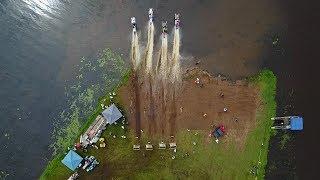 Grantsburg Snowmobile Watercross '17 - Feat. Danny #989