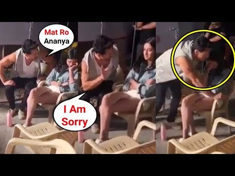 Ananya Pandey CRYING After Fight With Tiger Shroff On SOTY 2 Sets Mp3