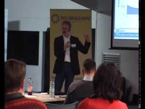 Energiestammtisch der Solarallianz am 11.2.2014 bei NEWI SOLAR in Bad Wurzach