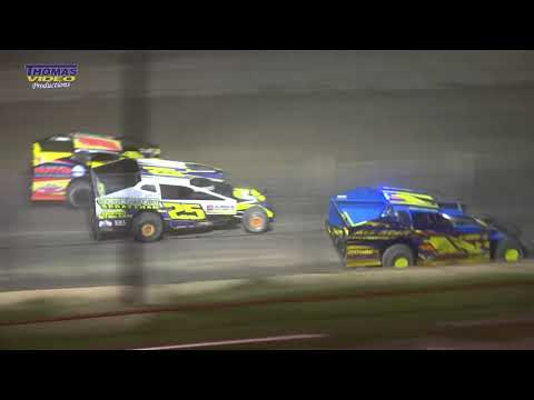 Video Recap of the 358 Modified SDS from Fulton Speedway on Saturday, June 27th, 2019. Track Announcers Bill Foley and 358 SDS Announcer Tim Baltz on ... - dirt track racing video image