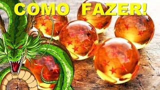 COMO FAZER AS ESFERAS DO DRAGÃO - DIY- DRAGON BALL
