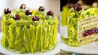 Green Forest Cake 🇺🇸🇫🇷 – Bruno Albouze