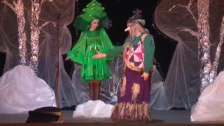МБУК Троицкий ДК Театрализованное новогоднее представление   Старая новая сказка