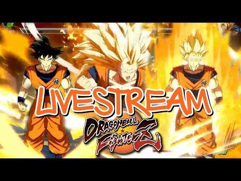 Live - DRAGON BALL FIGHTERZ - JOGANDO MODO ONLINE