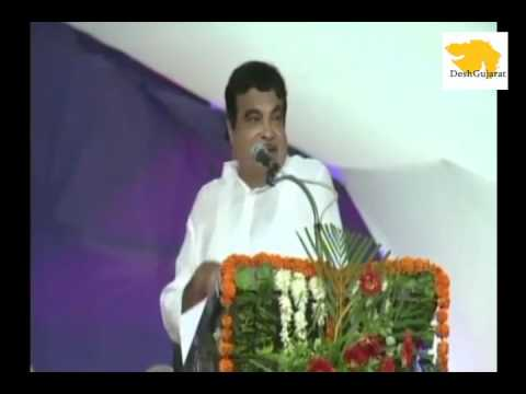 Nitin Gadkari 's speech at Somnath on roads, ports development in Gujarat