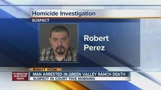 Green Valley Ranch man arrested in wife