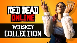 Red Dead Online - Whiskey Collection Locations [Madam Nazar Weekly Collection]