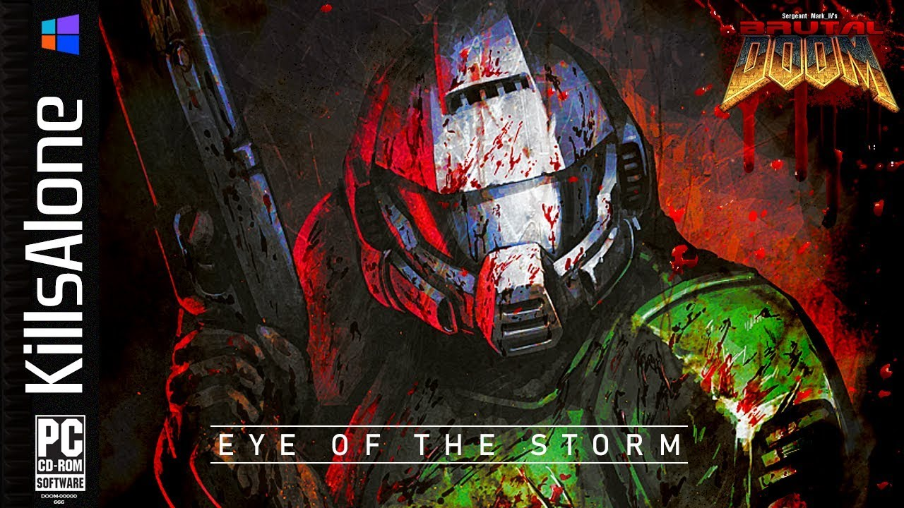 Brutal DOOM v21 ⛧ Extermination Day: Eye of the Storm (EDAY18) UPDATE