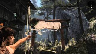 Tomb Raider Cliffside Village: Rope Bridge Tutorial Hd Gameplay Pc
