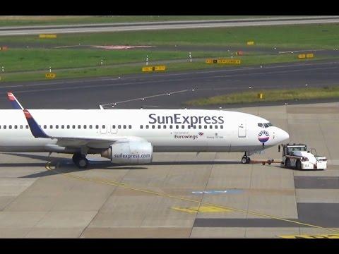 Sun Express Eurowings B738 Düsseldorf Airport    D-ASXJ