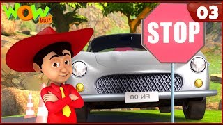 New Cartoon Show | Chacha Bhatija | Wow Kidz | Hindi Cartoons For Kids | Car Kare Chamatkar