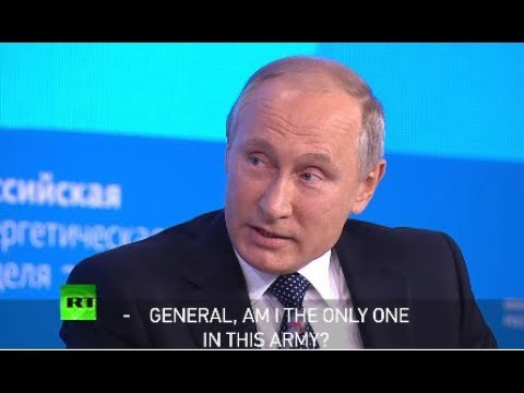 Putin tells a joke about Israeli army