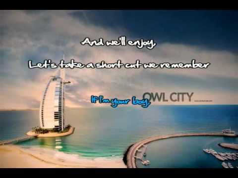 The Bird And The Worm (Owl City) Karaoke