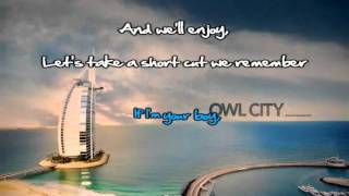 The Bird And The Worm (Owl City) Karaoke