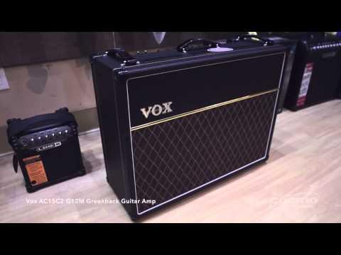 Vox AC15C2 G12M Greenback Guitar Amp