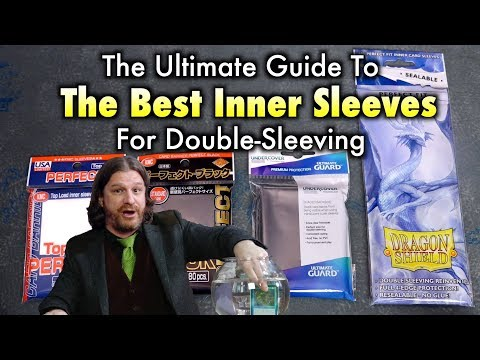 Ultimate Guide To The Best Inner Sleeves For Double-Sleeving Magic The Gathering And Pokémon Cards