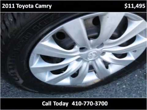 2017 Toyota Camry Used Cars Easton Md