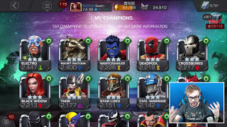 Best 3 Star Characters to Max - Marvel Contest of Champions