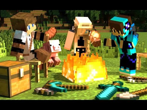 Minecraft Táborozásra Fel!! [Camping Mod]