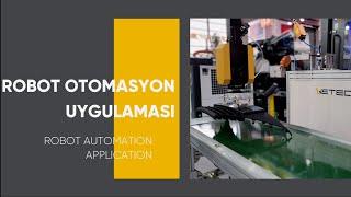Enjeksiyon Robotu - WETEC W7418 - 5 Eksen Servo Robot -Otomasyon Uygulaması (OTOMOTİV)- K 2019 Fuarı