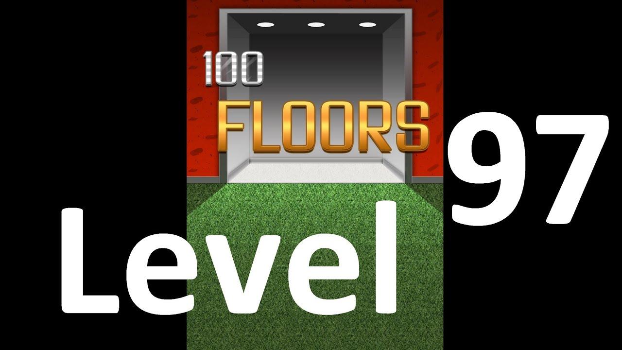 100 Floors Level 97 Floor 97 Solution Walkthrough Youtube