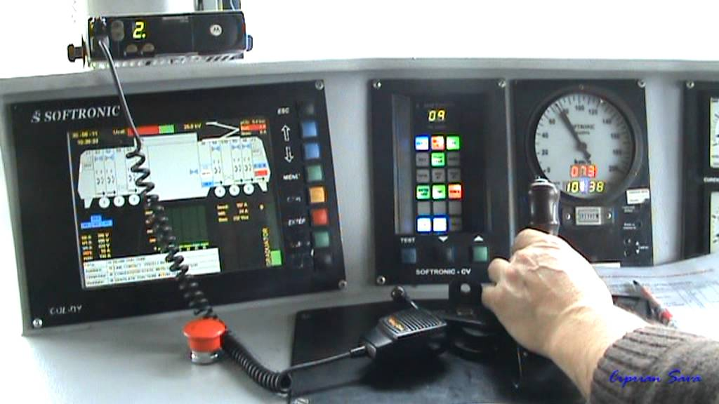 Post conducere locomotiva EA 5100 in mers