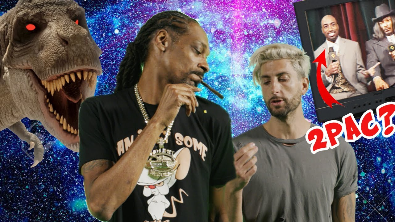Snoop Dogg, Tupac and a T-Rex, WHAT!? Making the I C Your Bullsh*t Official Music Video