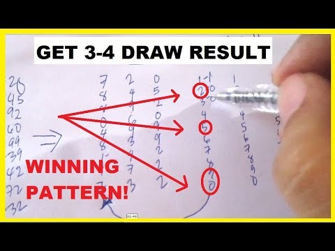 How to Spot a Lottery Sure Winning Pattern to win Daily