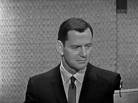 What's My Line?  Tony Randall; Buddy Hackett panel Aug 16, 1964