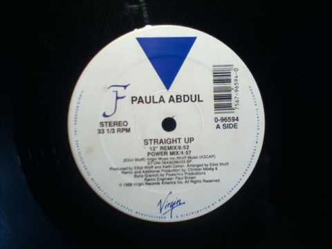 PAULA ABDUL- STRAIGHT UP  POWER MIX  WAV