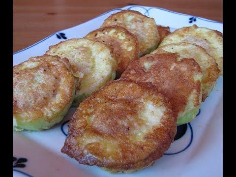 Кабачки в кляре с начинкой рецепт пошагово