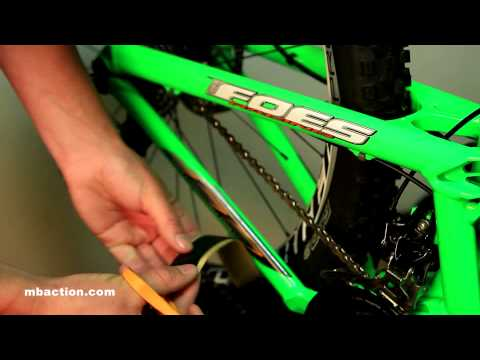 Mountain Bike Action Tech Minute - Using 3M Tape to Make Chainstay