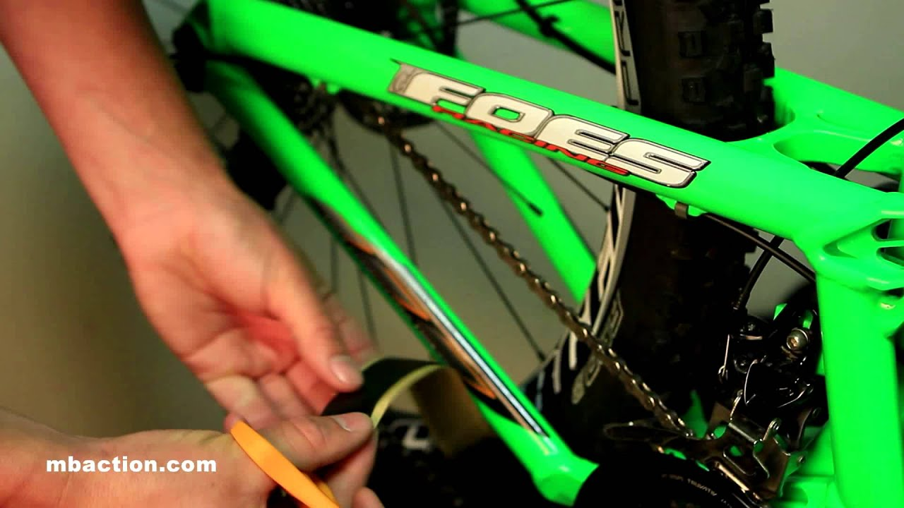 Prevents Scuffs/&Scratches Matte FrameGuard Bike Stone Chip Protection Kit