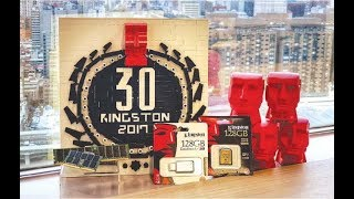 Компании Kingston - 30 лет. Краткая история компании.