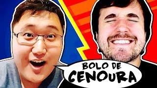 A BATALHA DE LEON X JEFF - Bolo de Cenoura?
