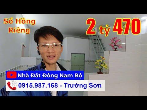 Chính chủ Bán nhà quận Bình Tân dưới 3 tỷ, gần chợ Bình Long