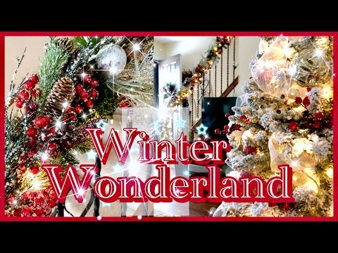 Christmas Winter Wonderland Decor | Christmas Decorating with My Sister!! #mychristmasmystyle2018