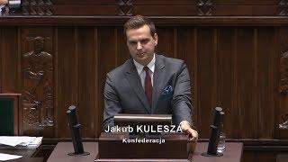 Jakub Kulesza - ograbiacie fundusz rezerwy demograficznej i f. wsparcia niepełnosprawnych