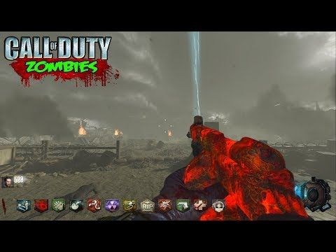 CALL OF DUTY WW2 ZOMBIES CUSTOM MAP! (CALL OF DUTY BLACK OPS 3 ...