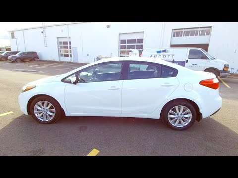 2014 Kia Forte - Used Cars - For Sale - Brantford Kia 519-304-6542 Stock No.  FT257A
