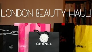 London Beauty Haul 2014 Thumbnail