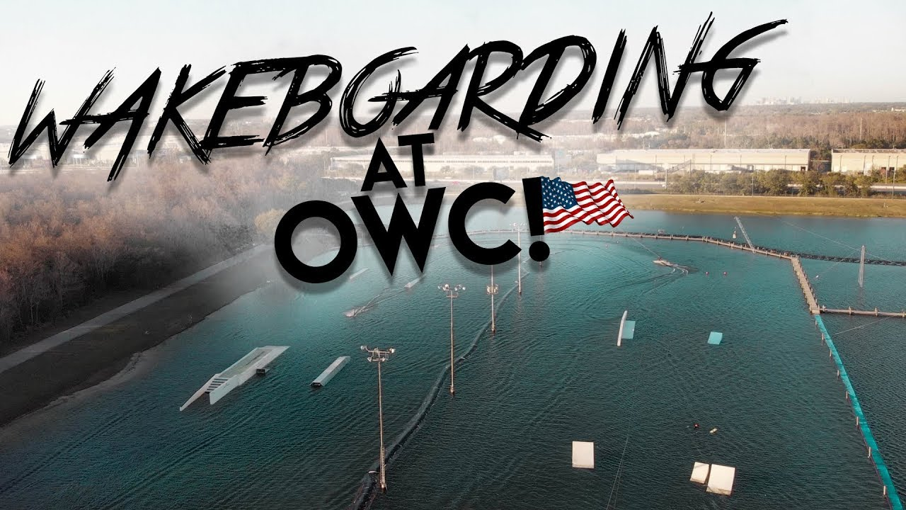 WAKEBOARD AT ORLANDO WATERSPORTS COMPLEX (OWC) with John Dreiling! | The Peacock Brothers