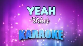 Usher - Yeah (Karaoke & Lyrics)