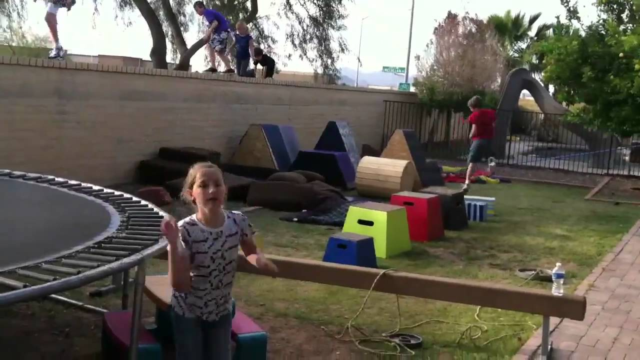 create your own obstacle course youtube
