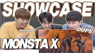 eng) MONSTA X 'FANTASIA' Stage Reaction | 몬스타엑스 판타지아 쇼케이스 무대…