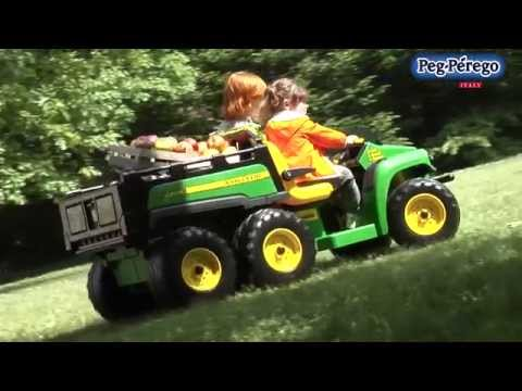 toys for sale john deere gator hpx 6x4 peg perego youtube. Black Bedroom Furniture Sets. Home Design Ideas