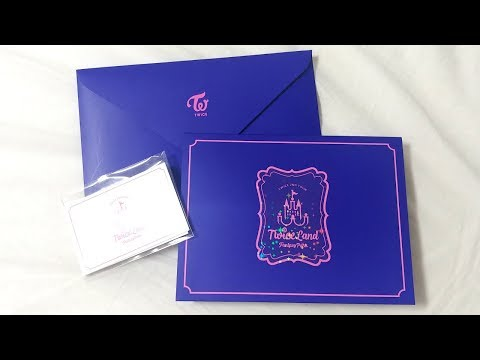 TWICE Pop-Up Card   TWICELAND: Fantasy Park Unboxing
